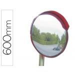 Espejo de seguridad acrilico con brazo articulado en acero galvanizado 60 mm