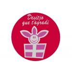 Etiqueta Arguval besos modelo 10 rollo de 250 unidades catalan