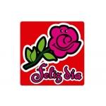 Etiqueta Arguval color rosa modelo 34 rollo de 250 unidades catalan