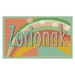 Etiqueta Arguval zorionak modelo 71 rollo de 250 unidades euskera