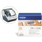 Etiqueta Brother para impresoras de etiquetas ql-multiproposito- 102x51 mm 600 etiquetas