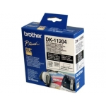 Etiqueta adhesiva Brother tamaño 17x54 mm para impresoras de etiquetas ql 400 etiquetas