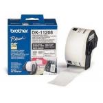 Etiqueta adhesiva Brother tamaño 38x90 mm para impresoras de etiquetas ql 400 etiquetas