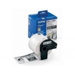 Etiqueta adhesiva Brother tamaño 62x100 mm para impresoras de etiquetas ql 300 etiquetas