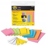 Etiqueta adhesiva Post-it super sticky removible pack color surtido 6 bloc 47,6x73 mm 4 bloc 73x73 mm y 3 bloc