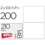 Etiquetas Adhesivas Apli 210x148 mm