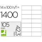 Etiquetas Adhesivas Q-Connect 105 x 42,3 mm
