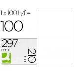 Etiquetas Adhesivas Q-Connect 210 x 297 mm