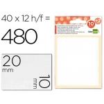 Etiquetas Liderpapel sobre de 10 H + 2 h obsequio 10x20 mm 35 unidades por hoja