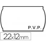 Etiquetas Meto onduladas 22 x 12 mm pvp bl adh 2 rollo etiquetas