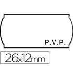 Etiquetas Meto onduladas 26 x 12 mm pvp bl adh 2 rollo etiquetas troqueladas