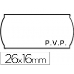 Etiquetas Meto onduladas 26 x 16 mm pvp bl adh 2 rollo etiquetas troqueladas