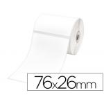 Etiquetas adhesiva Brother para tamaño 76x26 mm etiquetas