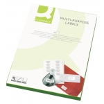Etiquetas adhesivas Q-Connect 210 x 148 mm caja de 100 hojas