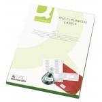 Etiquetas adhesivas Q-Connect 70 x 25 mm caja de 100 hojas