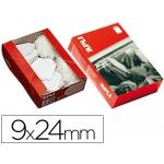 Etiquetas colgantes 384 9 x 24 mm caja de 1000