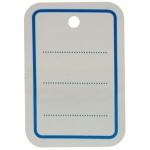 Etiquetas colgantes Apli 161021 textil perforada 31 x 46 mm caja de 1000