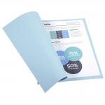 Exacompta Forever 410006E - Subcarpeta de cartulina, A4, 250 gr/m2, color azul claro