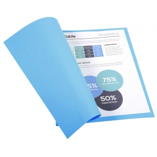 Exacompta Forever 410010E - Subcarpeta de cartulina reciclada, A4, 250 gr/m2, color azul oscuro