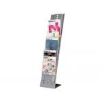 Expositor Fast-PaperFlow de suelo para tamaño A4 7 estantes mm