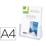 Expositor de sobremesa Q-connect de metacrilato tamaño A4