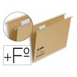 Fade Hamelin 400043485 - Carpeta colgante, tamaño folio prolongado, visor superior, kraft eco