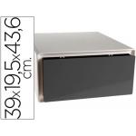 Fichero cajones de sobremesa Fast-PaperFlow de gran capacidad en abs 1 cajón