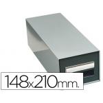 Fichero fichas metálico fichas sin cerradura tamaño 148x210