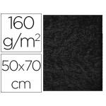 Fieltro Liderpapel 50x70 cm color negro 160 gr/m2