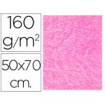 Fieltro Liderpapel 50x70 cm color rosa 160 gr/m2