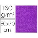 Fieltro Liderpapel 50x70 cm color violeta 160 gr/m2