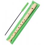 Flauta Hohner plástico funda color verde
