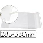 Forralibro Liderpapel con solapa ajustable adhesivo 285 x 530 mm