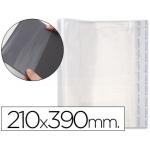 Forralibro pp ajustable adhesivo 210x390 mm blister