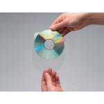 Funda autoadhesiva para cd Q-connect con solapa pack de 10 unidades
