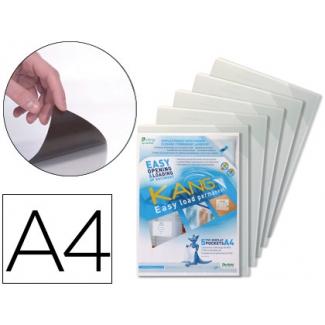 Funda de presentación Tarifold adhesiva permanente rigida y anti reflejo tamaño A4 pack 5 unidades