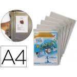 Funda de presentación Tarifold magnética rigida y anti reflejo tamaño A4 pack de 5 unidades