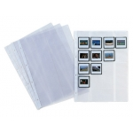Pardo 248100 - Funda para diapositivas, Folio, 4 taladros, capacidad para 20 diapositivas
