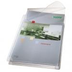 Funda multitaladro Esselte con fuelle tamaño A4 con solapa superior pvc 170 micras capacidad 200 hojas pack de 5 fundas