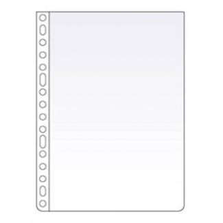 Esselte 313404 - Funda multitaladro, Folio, 120 micras, cristal, caja de 100 fundas