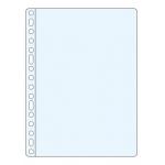Esselte 623896 - Funda multitaladro, Folio, 60 micras, piel de naranja, caja de 100 fundas