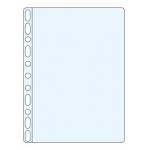Q-Connect KF18479 - Funda multitaladro, Folio, 120 micras, cristal, caja de 100 fundas