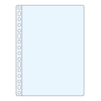 Funda multitaladro Q-connect tamaño folio pvc 100 micras piel naranja