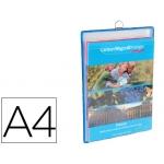 Funda para colgar Tarifold tamaño A4 anilla metálica formato vertical pack de 5 5 unidades color azul