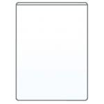 Q-Connect KF15081 - Funda portadocumento, transparente, plástico de 140 micras, tamaño 230 x 330 mm