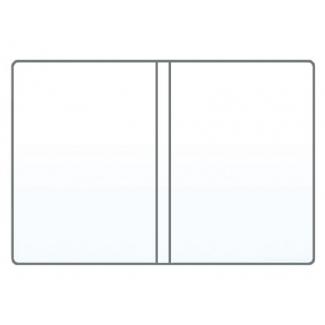 Saro 1108 - Funda portadocumento, PVC de 180 micras, tamaño 220 x 350 mm