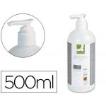Gel bactericida Q-connect para manos contenido 500 ml