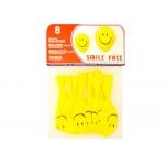 Globos cara sonriente bolsa de 8