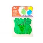 Globos verdes bolsa de 20