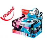 Goma Maped go mm en whizz con protector colores surtidos